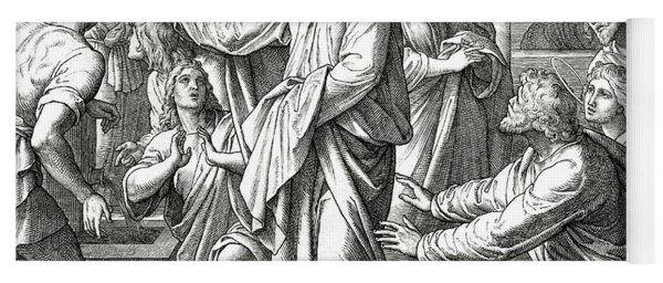 Jesus Changes Water Into Wine, Gospel Of John Yoga Mat