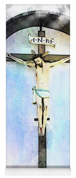 Jesus Christ - Zell Am See, Austria Yoga Mat