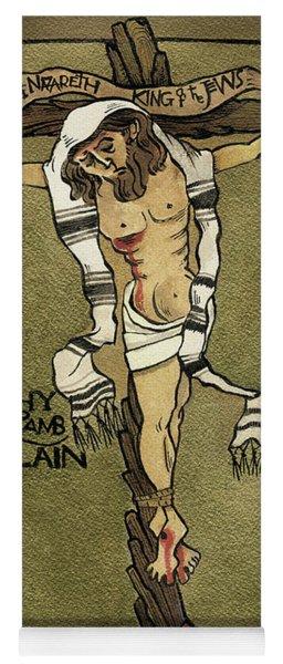 Jesus, King Of The Jews - Mmjkj Yoga Mat