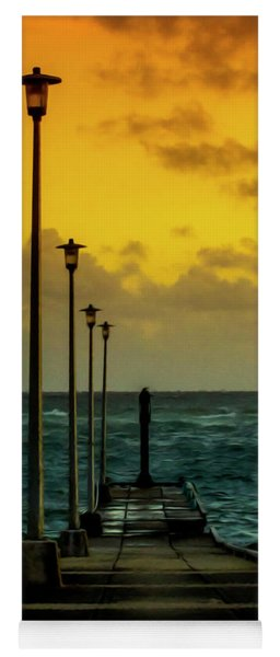 Jetty At Sunrise Yoga Mat