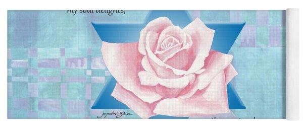 Jewish Wedding Blessing Yoga Mat