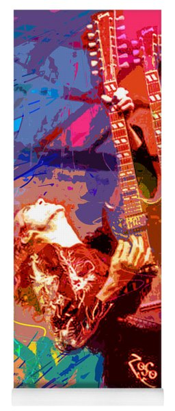 Jimmy Page Stairway To Heaven Yoga Mat