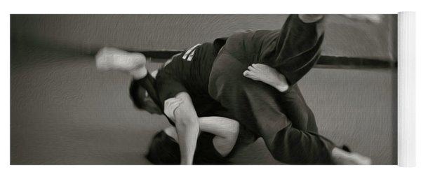 Jiu Jitsu Yoga Mat