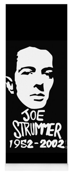Joe Strummer Yoga Mat
