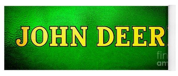 John Deere Nameplate Yoga Mat