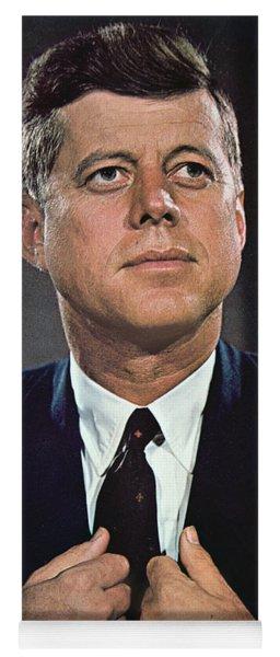 John F Kennedy Yoga Mat