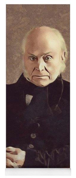 John Quincy Adams, President Yoga Mat