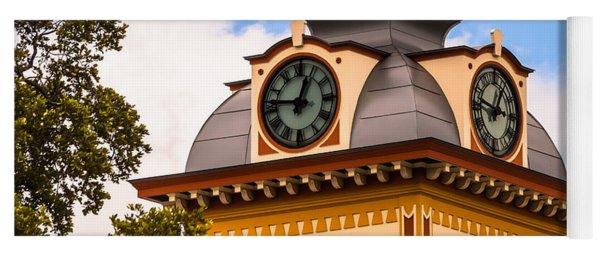 John W. Hargis Hall Clock Tower Yoga Mat