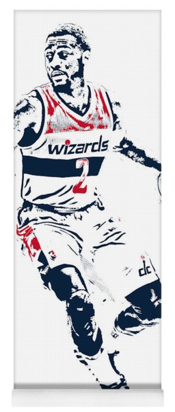John Wall Washington Wizards Pixel Art 1 Yoga Mat