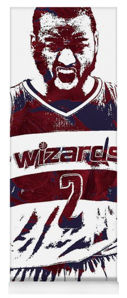 John Wall Washington Wizards Pixel Art 5 Yoga Mat