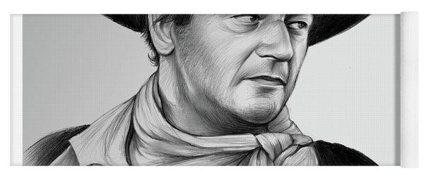 John Wayne 29jul17 Yoga Mat