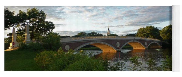 John Weeks Bridge In Harvard Square Cambridge Yoga Mat