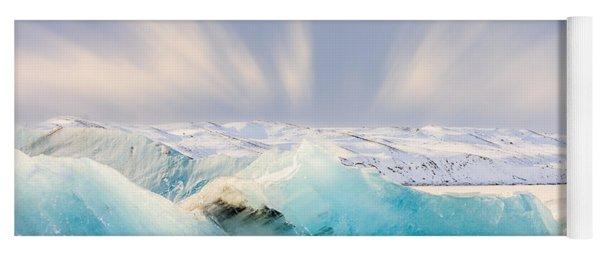 Jokulsarlon Glacier Lagoon Yoga Mat