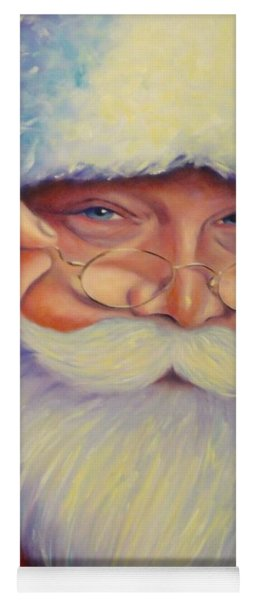 Jolly Old Saint Nick Yoga Mat