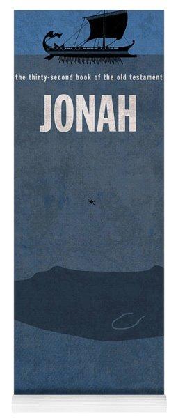 Jonah Books Of The Bible Series Old Testament Minimal Poster Art Number 32 Yoga Mat