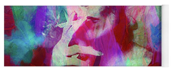 Joni Mitchell Yoga Mat