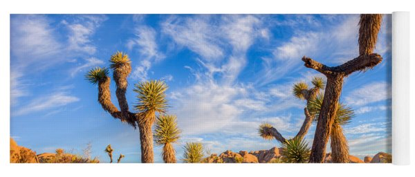 Joshua Tree Dawn Yoga Mat