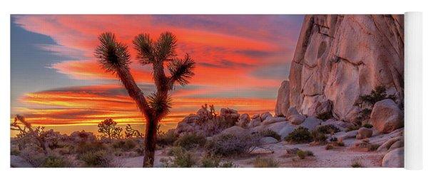Joshua Tree Sunset Yoga Mat