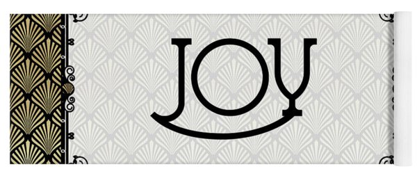 Joy - Art Deco Yoga Mat