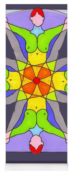 Joyce Soul Portrait Yoga Mat