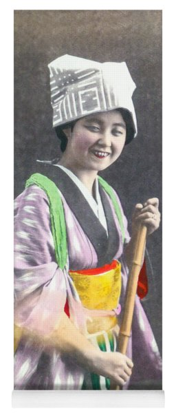 Japanese Woman Yoga Mat