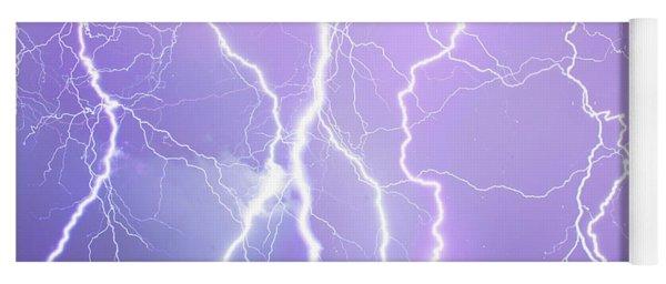 Judgement Day Lightning Yoga Mat