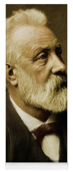Jules Verne, Literary Legend Yoga Mat