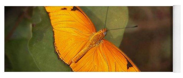 Julia Dryas Butterfly-2 Yoga Mat
