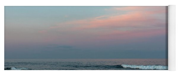 June Sky Seaside New Jersey Yoga Mat