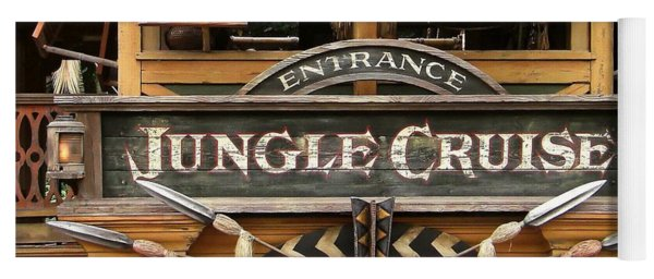 Jungle Cruise - Disneyland Yoga Mat