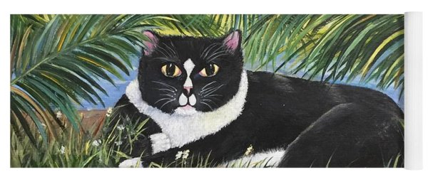 Jungle Kitty Yoga Mat