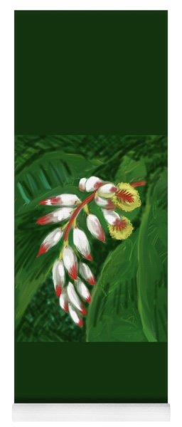 Jungle Orchid Yoga Mat