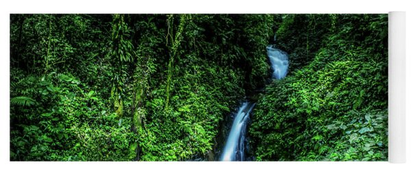 Jungle Waterfall Yoga Mat
