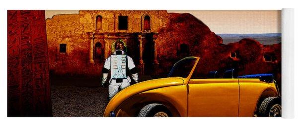 Juni Do You Remember The Alamo? Yoga Mat