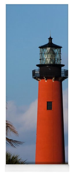Jupiter Inlet Lighthouse Yoga Mat