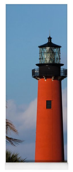 Jupiter Inlet Lighthouse Yoga Mat