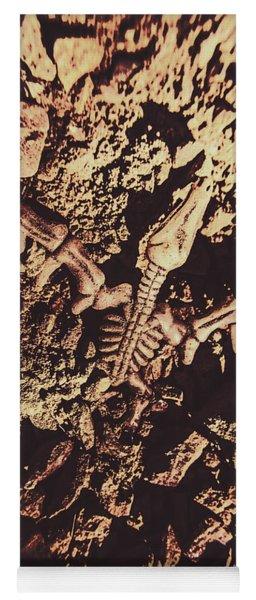 Jurassic Grave Yoga Mat
