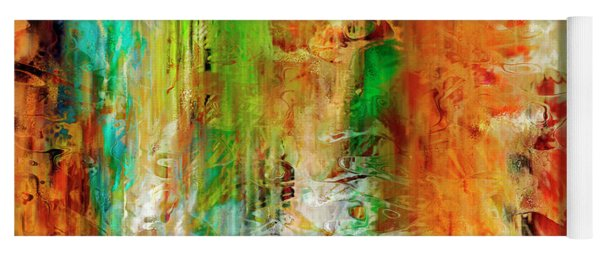 Just Being - Abstract Art Yoga Mat