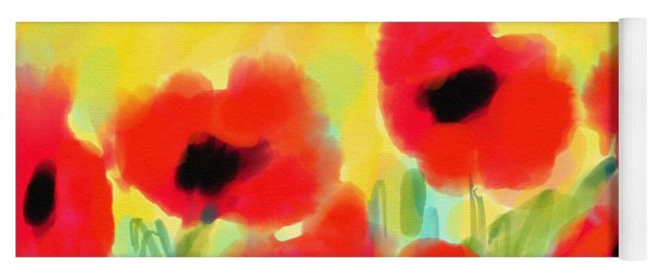 Just Poppies Yoga Mat