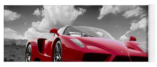 Just Red 1 2002 Enzo Ferrari Yoga Mat