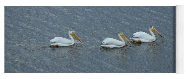 Triple Pelicans Lake John Swa Co Yoga Mat