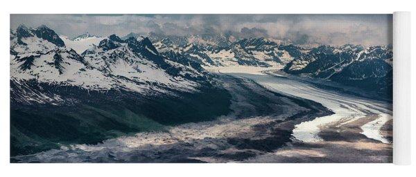 Kahiltna Glacier Yoga Mat