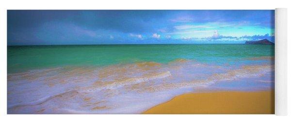 Seascape, Kailua - Lanikai, Oahu, Hawaii Yoga Mat