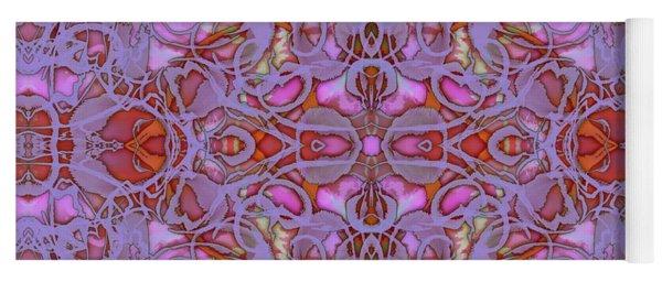 Kaleid Abstract Focus Yoga Mat