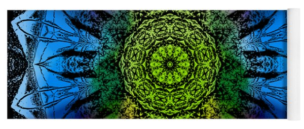 Kaleidoscope - Colorful Yoga Mat