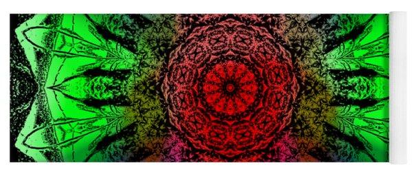 Kaleidoscope Yoga Mat