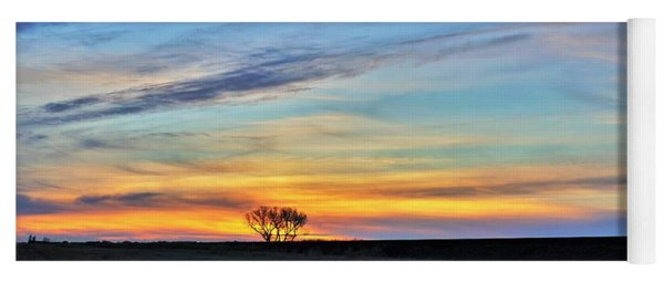Kansas Sunrise1 Yoga Mat