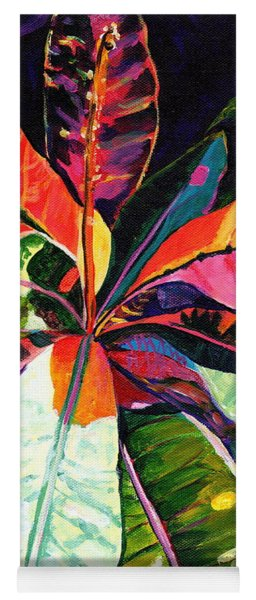 Kauai Croton Leaves Yoga Mat