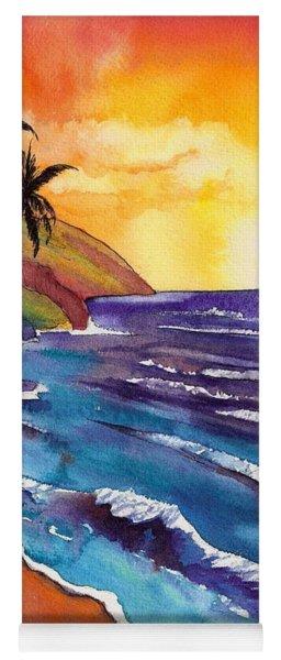 Kauai Na Pali Sunset Yoga Mat