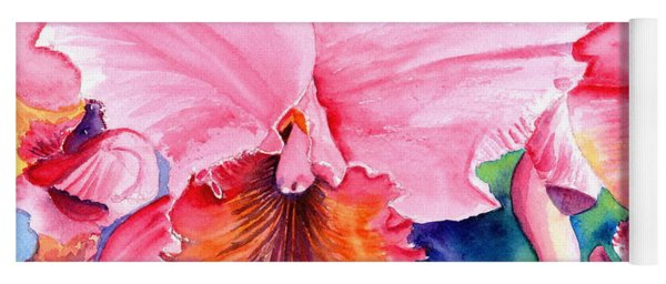 Kauai Orchid Festival 3 Yoga Mat